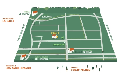 mapa belen